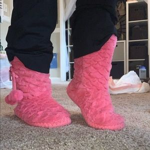 pink slippers target